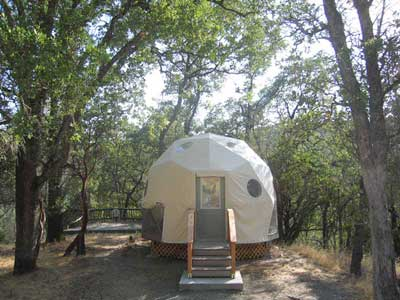 t4 & Tent Cabins | Harbin Hot Springs